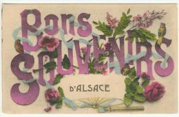 BONS SOUVENIRS D' ALSACE - Souvenir De...