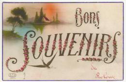 LE ROLOUX  ( FEXHE LE HAIT CLOCHER ) Bons Souvenirs De Roloux Voir Verso - Fexhe-le-Haut-Clocher