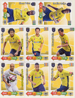 ADRENALYN XL PANINI FOOT 2011-2012 LIGUE 1 FCSM SOCHAUX - Trading Cards
