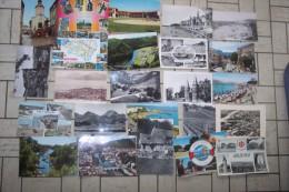 LOT De 288 CP    18 Reproductions   209 CPSM CPM GM   44 CPSM PM CPA  17 Etranger - 5 - 99 Postcards