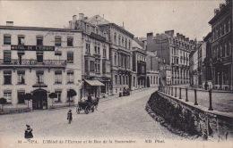 Spa 508: L'Hôtel De L'Europe Et La Rue De La Sauvenière 1916 - Spa
