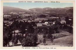 Monts Du Forez - Lérigneux - Vue Générale - Piste De Pierre Sur Haute - France
