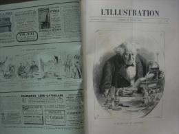 L'ILLUSTRATION 2407 M. CHEVREUL/ EXPOSITION / EXPEDITION STANLEY/ REICHSTAG / 13/04/1889 - Journaux - Quotidiens