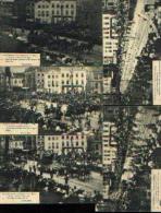 « 75e Anniversaire De L'indépendance Belge  - Grand Cortège Historique » - Lot De 10 CV - Manifestations