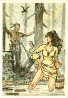 3/4 CPM Cartolina Milo Manara BD Fumetti Carte Postale Comics - Fumetti