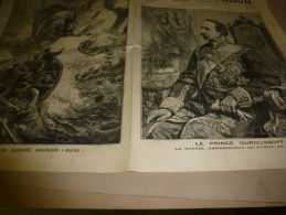 1898  LE PETIT PARISIEN : Alliance FRANCO-RUSSE (France-Russie);Le MASQUE De FER; Naufrage Du Cuirassé Américain Maine; - Zeitungen