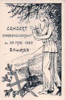 Baulmes Concert D'Arrondissement Fête De Musique 1920 Litho (4645) - VD Vaud
