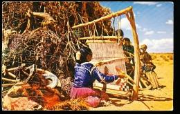 THEME INDIENS / Navajo Weaver / - Indiens De L'Amerique Du Nord