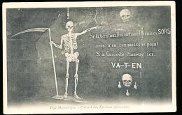 THEME RELIGION / Loge Maçonnique, Cabinet Des épreuves Effrayantes / - Glaube, Religion, Kirche