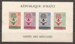 REFUGIADOS - HAITI 1959 - Yvert #H13 - MNH ** - Refugees
