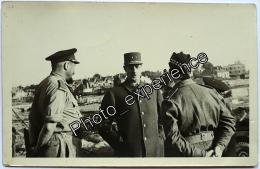 CPA Carte Photo Guerre 39-45 Militaire Général DE GAULLE WW2 Normandie Calvados 14 - Oorlog, Militair