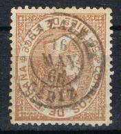 Sello 50 Mils Isabel II 1867, Fechador GRAZALEMA (cadiz), Num 98 º - Usados