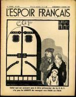 L´Espoir Français, Hebdomadaire Anti-communiste. PRISONNIER DE LA C.G.T... . N° 161. 5 MARS 1937. - Livres, BD, Revues