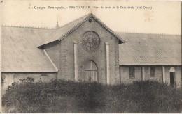 CONGO FRANCAIS BRAZZAVILLE  BRAS DE CROIX DE LA CATHEDRALE COTE OUEST CPA NO 9 - Brazzaville