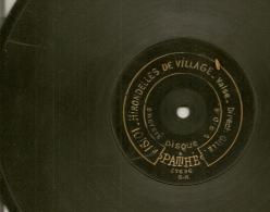 90 Tours Saphir PATHE 1909/1912 N° 82132 ESTUDIANTINA (valse Solo De Violon A.MAI) + N°15101 HIRONDELLES De Village - 78 Rpm - Schellackplatten