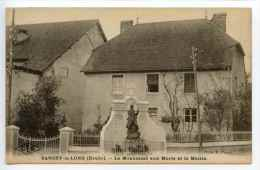 Sancey Le Long- Le Monument Aux Morts Et La Mairie - Other Municipalities