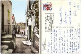 Etaples - Une Rue Pittoresque (flamme Etaples Bien Frappée) - Etaples