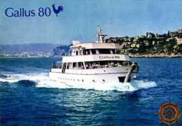 Croisieres Le Long De La Riviera Cote D'Azur A Bord Du Gallus 80, Coq, Barre - Barche
