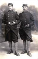 Superbe Carte Photo - 2 Copains Du 56 ème Régiment D´Infanterie - Beau Portrait - Regiments