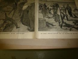 1898  LE PETIT PARISIEN :  L´ AFFAIRE DREYFUS En Cour D´Assises , Le Procès D´ EMILE ZOLA - Le Petit Parisien