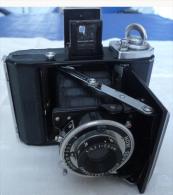 Vintage Zeiss Ikon Ikonta 521 (A) Folding Camera With Novar Anastigmat 1:6,3, F=7,5 Cm Lens - Appareils Photo