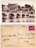 AMBOISE - Le Chateau Et Le Pont -  Cachet DAGUIN  (57446) - Amboise