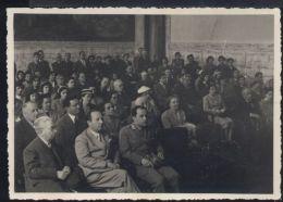 WA14 UNUA ESPERTANTA KUNVENO EN ALESSANDRIA LA TRIAN DE MAJO 1953 ( FOTOCARTOLINA ) - Esperanto