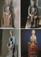 VIERGES ROMANES : Moussages - Heume-l´Eglise - Chateauneuf-les-Bains - Notre-Dame-de-Roche-Charl Es - Ansichtskarten