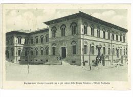 CARTOLINA - GROTTAMMARE - CLIMATICA INVERNALE FRA LE PIU´ RIDENTI ....EDIFICIO SCOLASTICO -  VIAGGIATA NEL 1914 - ASCOLI - Ascoli Piceno