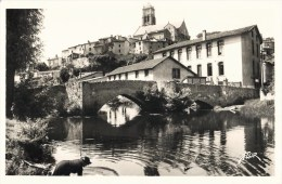 BELLAC VIEUX PONT SUR LE VINCOU ET L'EGLISE 87 - Bellac
