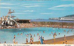 WESTON SUPER MARE -THE BATHING POOL - Weston-Super-Mare