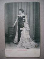 Cartolina OLGA GIANNINI - Alterocca TERNI Fine'800 Inizio'900 - Femmes Célèbres