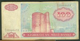 ��� AZERBAIJAN - 100 MANAT 1993 ���