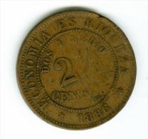 Chile  2 1/2 Centimos  1886    #m92 - Chile
