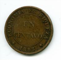 Chile  1 Centavo 1882   #m100 - Chile