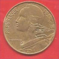 FRANCIA - FRANCE - 1984 - COIN MONETA - 20 Centesimi Centimes  - CONDIZIONI SPL - France