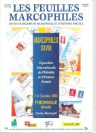 LES FEUILLES MARCOPHILES Supplément 318 - Littérature