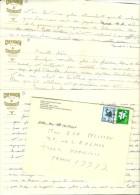 Lettre En Provenance Du Japon / Japan Avec En Tête El Salam Hôtel Au Caire / Courrier Chevignon - Marcophilie (Lettres)