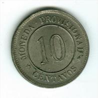 Peru 10 Centavos 1880  KM198     #m123 - Peru