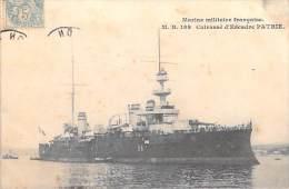 Bateau Guerre- Marine Militaire Française- Cuirassé D´Escadre PATRIE ( Editions : M.B 188)*PRIX FIXE - Guerre