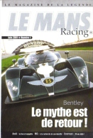 24 Heures Du Mans  -  2001  -   Bentley Speed 8   -  Carte Promo - Non Classés