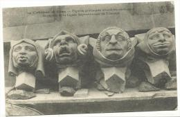 R : Marne  : REIMS :    Figures    Grotesques - Reims