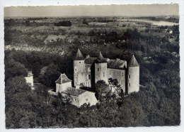 CHARRY--1968--Vue Aérienne--En Avion Au-dessus De..... Charry--Le Chateau--cpsm 10 X 15 N°1 éd Sofer - France