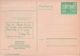 Esperanto - Ludwig Renn - Erster Präsident - Esperanto