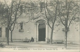 36Ve    34 Lamalou Le Haut Grand Hotel Des Thermes TTBE - Lamalou Les Bains