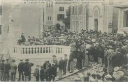36Ve    34 Lamalou Les Bains Inauguration De La Statue Du Dr Privat En 1903 En TBE - Lamalou Les Bains