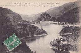 BARRAGE DE ROCHETAILLEE - VUE GENERALE DU GOUFFRE D'ENFER (dil22) - Rochetaillee
