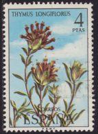 España 1974 Edifil 2222 Sello º Serie Flora Tomillo Thymus Longiflorus 4Pts Spain Stamps Timbre Espagne Briefmarke - 1931-Hoy: 2ª República - ... Juan Carlos I