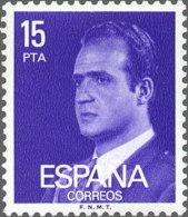 España 1977 Edifil 2395 Sello ** Rey Don Juan Carlos I Efigie 15p Spain Stamps Timbre Espagne Briefmarke Spanien Francob - 1931-Hoy: 2ª República - ... Juan Carlos I