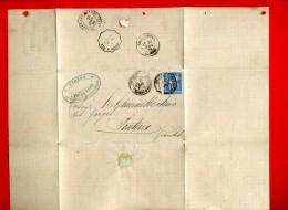 FACTURE TIMBREE 1882 ORTHEZ BASSES PYRENEES FER FONTE BOIS DE PIN J. PEYRET POUR LES FORGES DE PONTENX LANDES - France